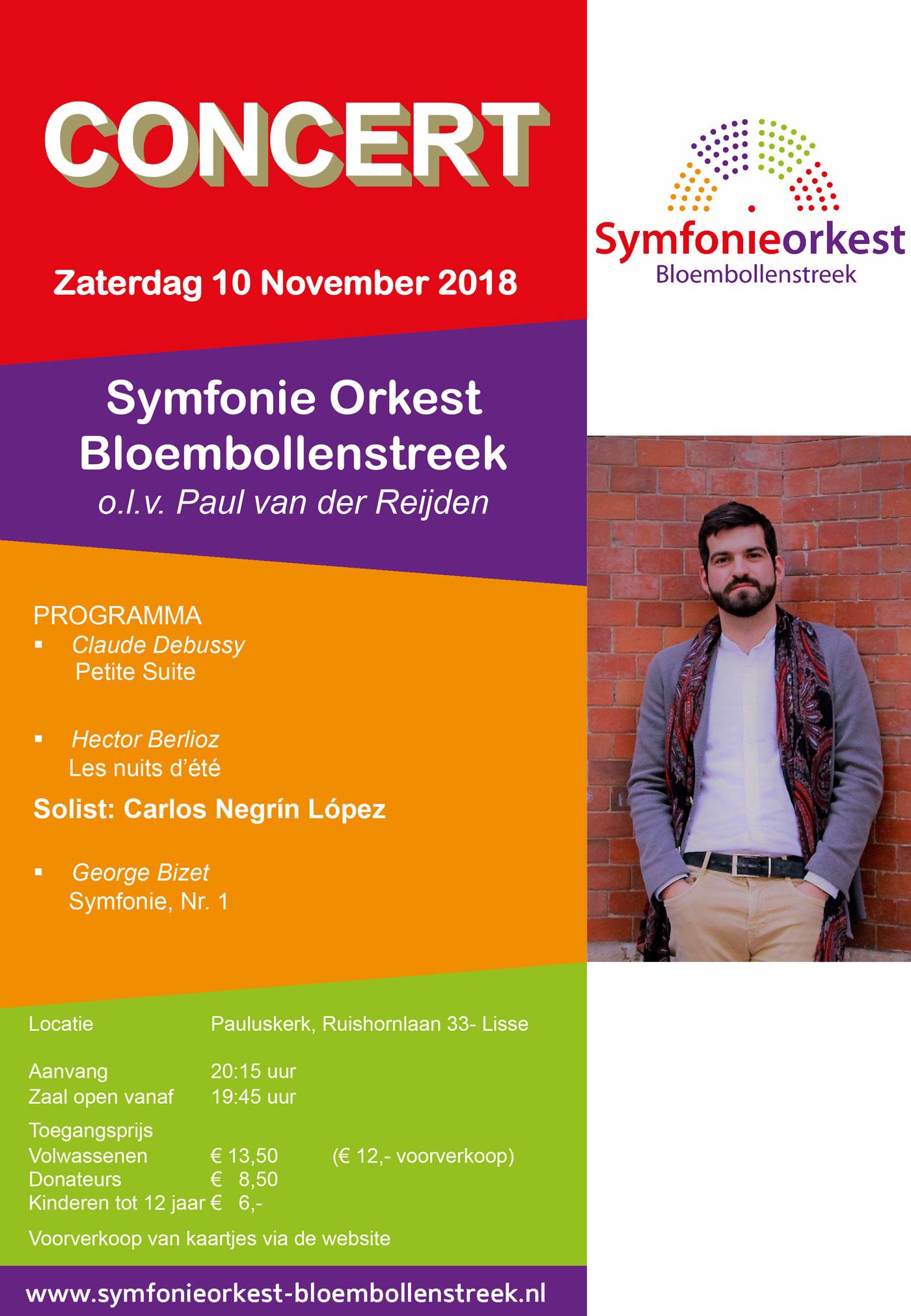 Najaarsconcert Sob 10 November 2018