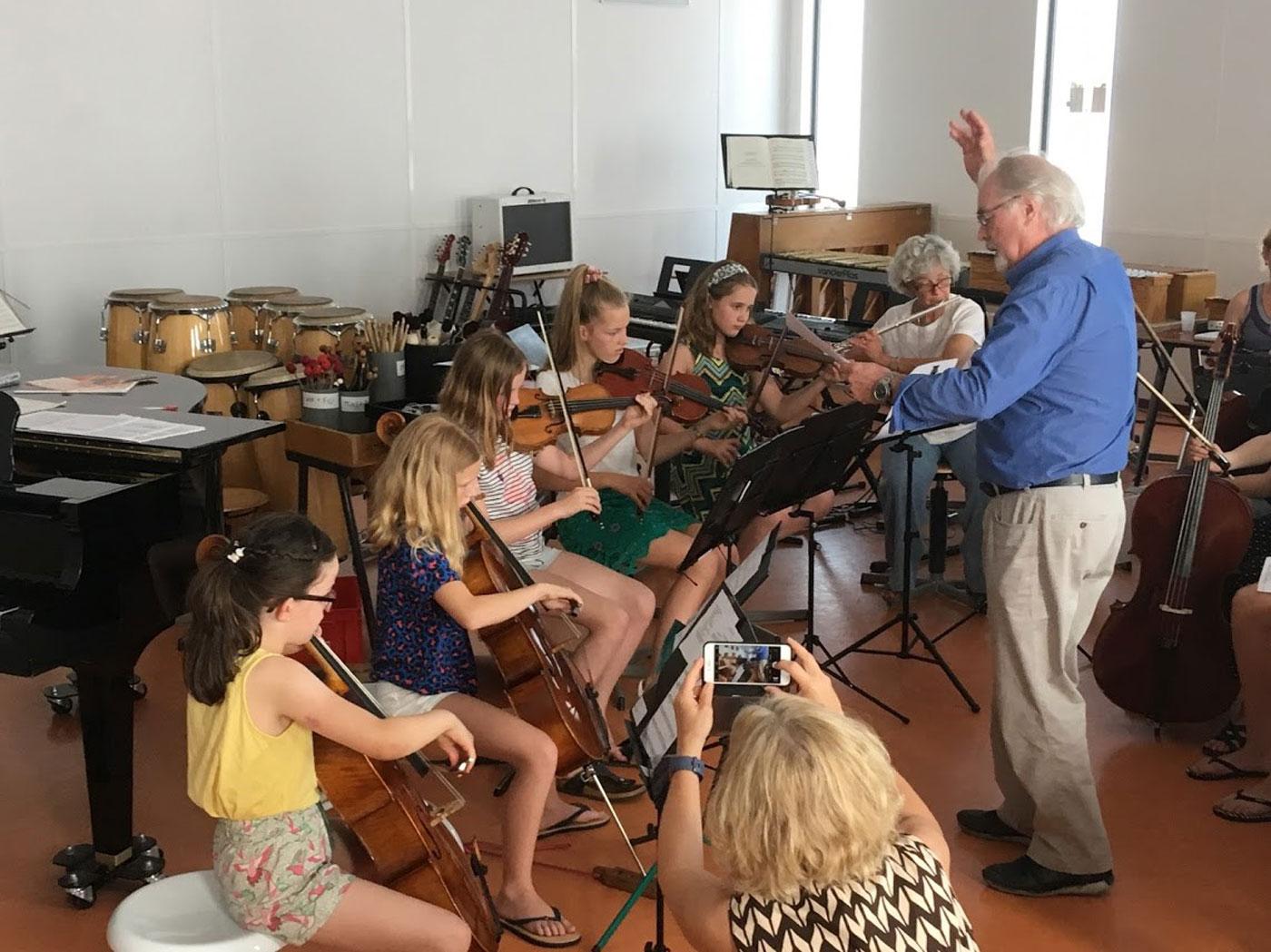 2019 06 29 Stijkers En Dwarsfluit Met Gastdirigent Peter Kamermuziekdag Symfonieorkest Bloembollenstreek