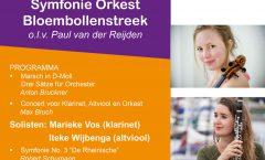 2019 11 19 Poster Najaarsconcert Sob Symfonieorkest Bloembollenstreek