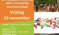 Poster Pepernoten Instuif 2019 Symfonieorkest Bloembollenstreek